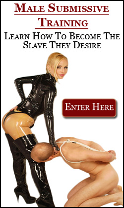 Male Slave Training