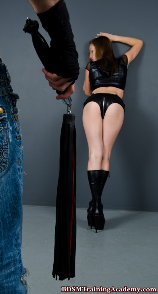 Slave Waiting For Her Flogging