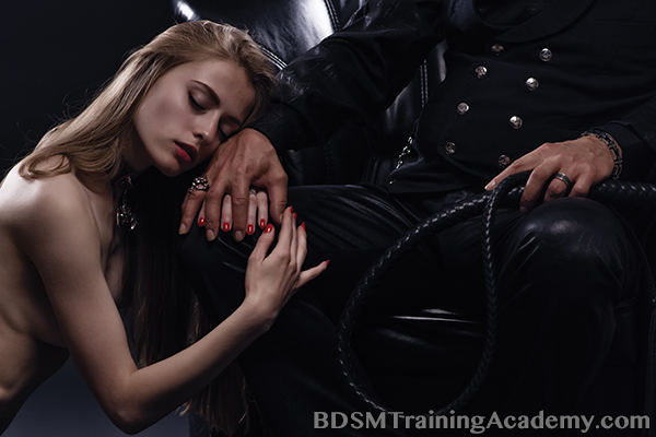 Male Dominant Training Their Submissive