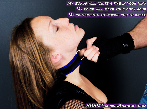 Inspiration to motivate a submissive to want to submit