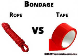 Bondage Rope Vs Tape