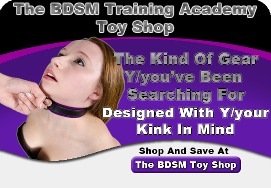 The BDSM Training Academy Toy Shop