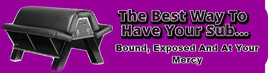 BDSM Bondage Bench