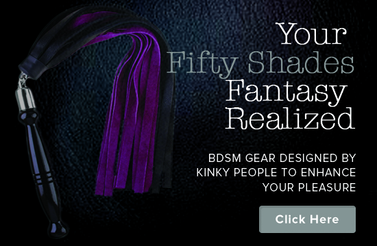 Fifty Shades BDSM Toy Shop Flogger