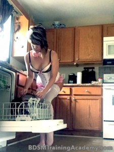 Slave Cleaning Dishes