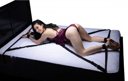 Interlace Bed Restraint Set