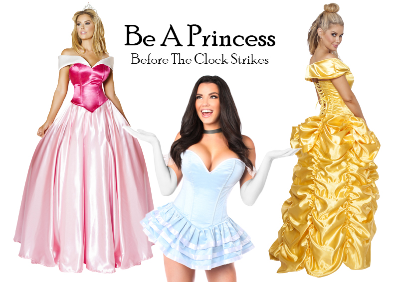 Be A Princess For Halloween