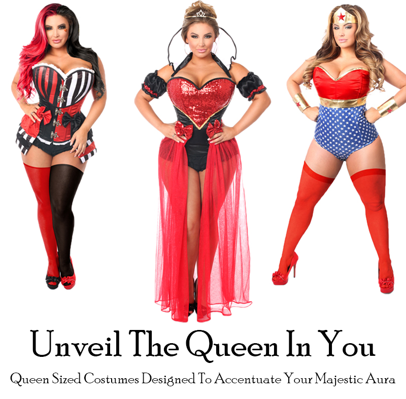 Queen Size Costumes