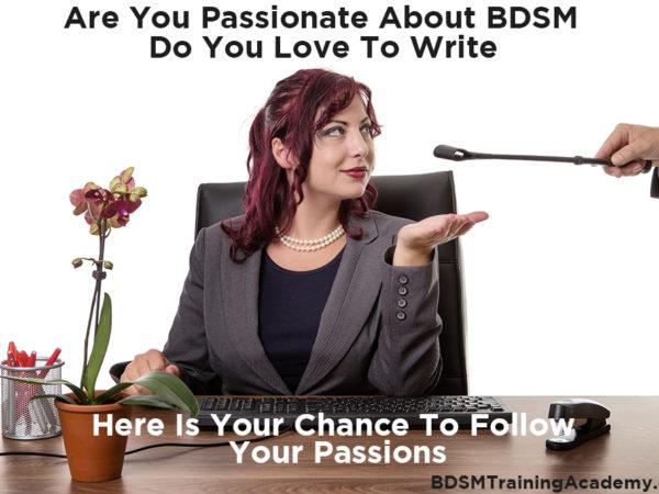 BDSM Kinky Fetish Writers Wanted
