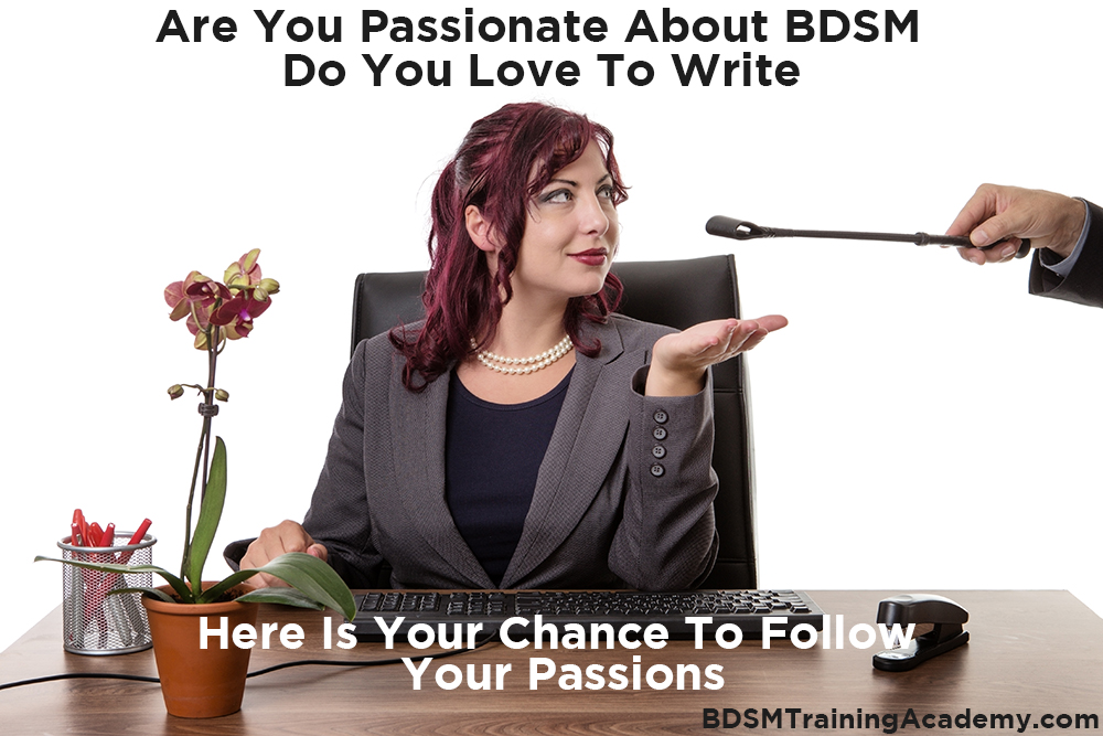 BDSM Kinky Fetish Writers Wanted