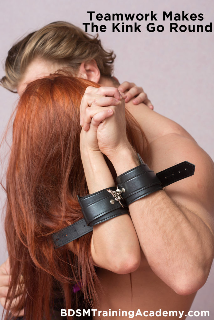 Teamwork In Dominant Submissive Relationships