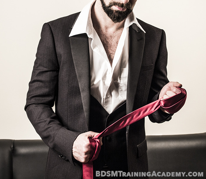 Alpha Dominant With Suit And Tie