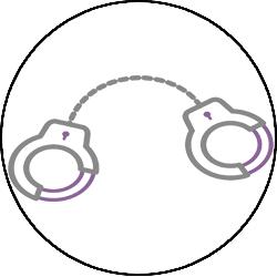 BDSM Bondage Cuffs Icon