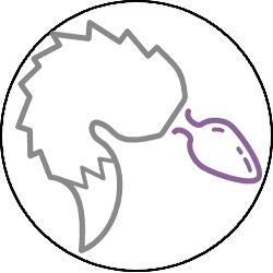 BDSM Butt Plug Tail Icon