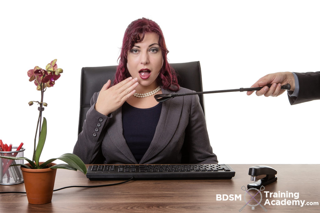Submissive Working At BDSM Office