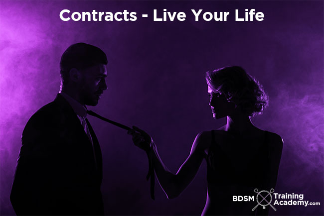 BDSM Contracts Live Your Life