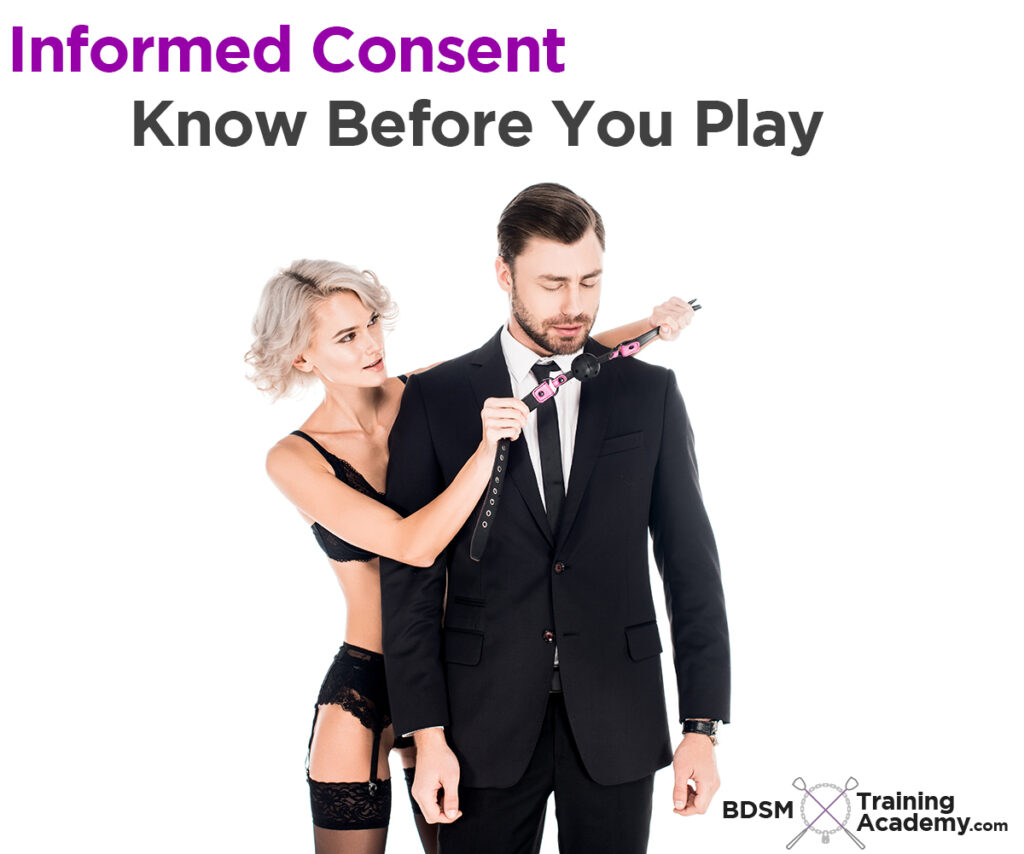 Informed Consent Before You Play With BDSM
