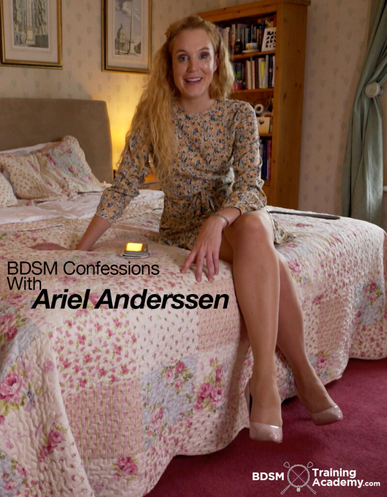BDSM Confessions Spankings With Ariel Anderssen